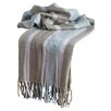 <strong>Rizzy Home</strong> Acrylic Herringbone Throw