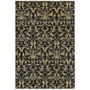 Rizzy Home Sorrento Black Rug