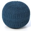 Rizzy Home ColorCable Knit Ottoman