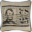 Rizzy Home Stamp Throw Pillow