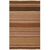 Rizzy Home Swing Brown Multi Rug