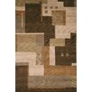 Rizzy Home Tango Brown Bubblerary Rug