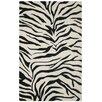 Rizzy Home Volare Black/Ivory Zebra Print Area Rug