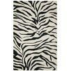 <strong>Volare Black/Ivory Zebra Print Rug</strong> by Rizzy Home