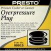<strong>Presto</strong> Overpressure Plug