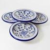 Le Souk Ceramique Azoura Design Serving Dish (Set of 4)