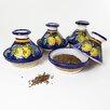 Le Souk Ceramique Citronique Design Mini Tagines (Set of Four)