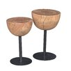 Moe's Home Collection Drum End Table 2 Piece Set