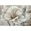 Moe's Home Collection White Perennial I Painting Print