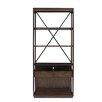 "Stanley Furniture Newel 80"" Display Bookcase"