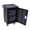 Luxor 30-Compartment Charging Cart