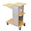Luxor Mobile Presentation Station with Casters