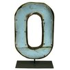 <strong>Moonshine Metal Letters O on a Stand Letter Block</strong> by Groovystuff