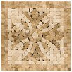 "<strong>Emser Tile</strong> Natural Stone 4"" x 4"" Honed Marble Teatro Listello Corner"