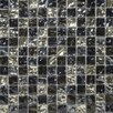 "Emser Tile Vista 1"" x 1"" Glass Mosaic in Freddo Blend"
