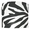 "<strong>Illumalite Designs</strong> 11"" Zebra Lamp Drum Shade"