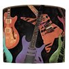 <strong>Guitar Montage Drum Shade</strong> by Illumalite Designs