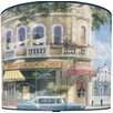"<strong>Illumalite Designs</strong> 11"" Havana Street Scene Drum Shade"