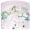 "<strong>Illumalite Designs</strong> 11"" Unicorn Carousel Drum Shade"