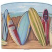 "Illumalite Designs 11"" Surfing Drum Shade"