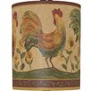 "Illumalite Designs 5"" Roosters Drum Shade"