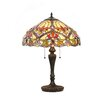 "<strong>Chloe Lighting</strong> Victorian Byron 24"" H Table Lamp with Bowl Shade"