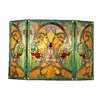 <strong>Chloe Lighting</strong> Victorian 3 Panel Myrtle Fireplace Screen