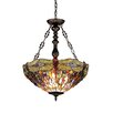 <strong>Dragonfly 3 Light Dragon Inverted Ceiling Pendent</strong> by Chloe Lighting