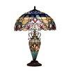"<strong>Chloe Lighting</strong> Victorian Grenville 25"" H Table Lamp with Bowl Shade"