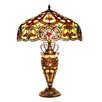 "Chloe Lighting Sadie 25.4"" H Table Lamp with Bowl Shade"