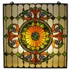 <strong>Chloe Lighting</strong> Tiffany Victorian Window Panel
