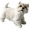 Sandicast Small Size West Highland Terrier Sculpture