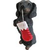 Sandicast Sitting Pretty Dachshund Ornament