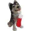 Sandicast Siberian Husky Ornament