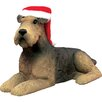 <strong>Sandicast</strong> Airedale Terrier Christmas Ornament