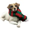 <strong>Sandicast</strong> Lying Jack Russell Terrier Christmas Ornament