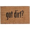Coco Mats N More Got Dirt Doormat