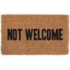 Coco Mats N More Not Welcome Doormat