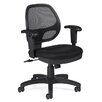 Low-Back Mesh Office Chair with Arms