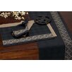 <strong>Fleur De Lis Jacquard Table Runner</strong> by Design Imports