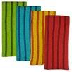 Design Imports 4 Piece La Cocina Heavyweight Dishtowel Set
