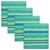Design Imports Seashore Stripe Napkin (Set of 4)