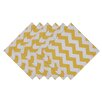 Design Imports Snapdragon Chevron Printed Napkin (Set of 6)