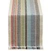 Design Imports Mediterranean Stripe Fringed Table Runner
