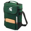 <strong>Picnic Time</strong> NCAA Duet Wine and Cheese Picnic Tote