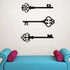 WallPops! Keys to my Heart Small Wall Decal Kit