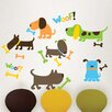 WallPops! Art Kit Puppy Love Wall Decal