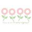 <strong>WallPops!</strong> Forget Me Not Wall Decal