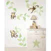 WallPops! Art Kit Monkeying Around Wall Decal