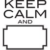 WallPops! Art Kit Keep Calm Dry Erase Quote Wall Decal